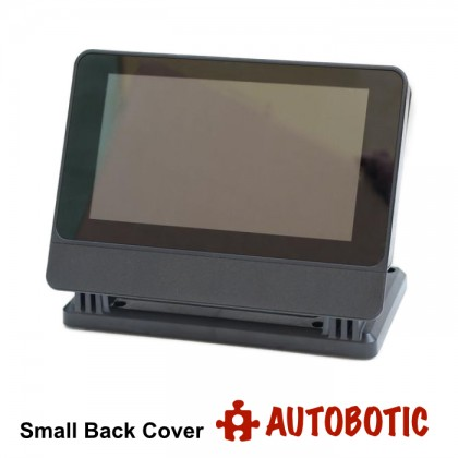 SmartiPi Touch PRO Case + Small Back Cover for Raspberry Pi Touch Screen (Compatible With Raspberry Pi 4/3B+/3B/2B)