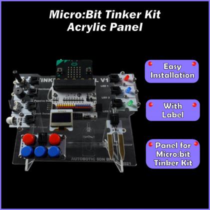 Micro:Bit Tinker Kit Acrylic Panel
