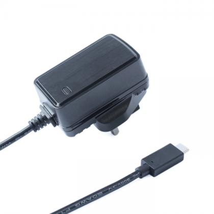 OKdo Power Supply For Raspberry Pi 4 USB Type C with UK Plug + 1 Yr Warranty