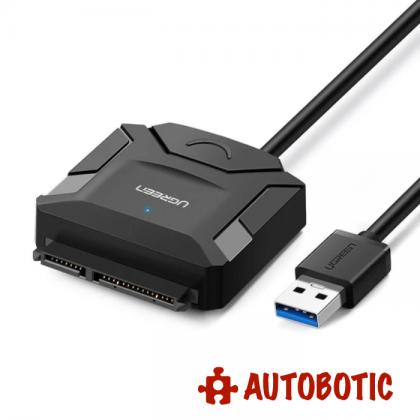 120GB 2.5 inch SATA 3 SSD/HDD With Raspbian OS (Latest) + USB 3.0 To SATA 3 Converter (6Gbps)