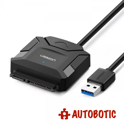 250GB 2.5 inch SATA 3 SSD/HDD With Raspbian OS (Latest) + USB 3.0 To SATA 3 Converter (6Gbps)