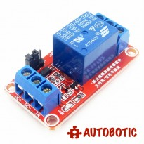 1 Channel Relay Module With Opto-Isolator (5V) Support High / Low Trigger