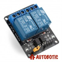 2 Channel Relay Module With Opto-Isolator (5V)