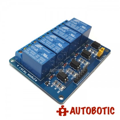 4 Channel Relay Module With Opto-Isolator (5V)