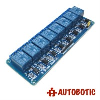 8 Channel Relay Module With Opto-Isolator (5V)