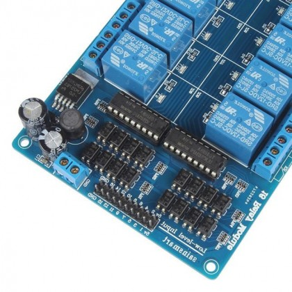 16 Channel Relay Module With Opto-Isolator (12V)