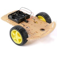 2WD Smart Robot Car Chassis Kit with DC Motor Set for Arduino