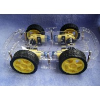 4-Wheel Robot Car Chassis