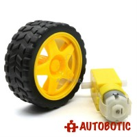 Mini DC Motor + Wheel Kit