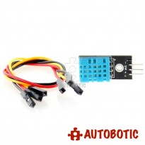 DHT11 Temperature and Relative Humidity Sensor with Jumper Wires