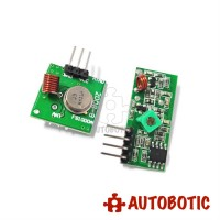 433Mhz RF transmitter and receiver link kit Remote control
