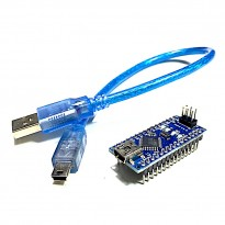 Arduino Nano 3.0 Compatible (Chip FT232RL) + Cable (Made in China)