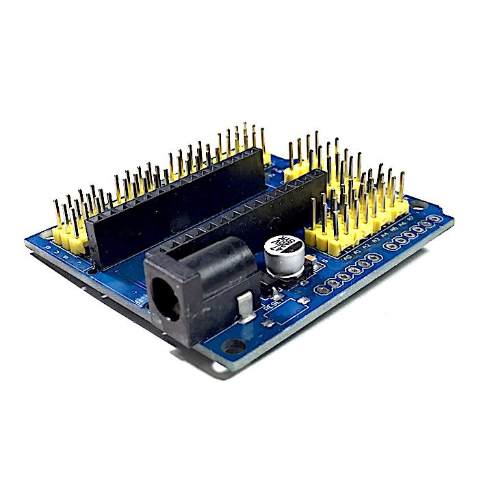 Multi purpose expansion board for arduino nano