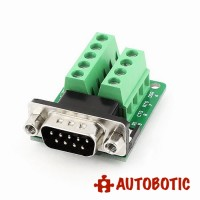 RS232 to Terminal DB9 Male Adapter Connector Signal Terminal Module