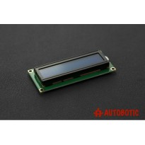 Basic 16x2 Character LCD - White on Blue 5V (1602A)