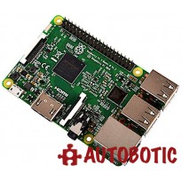 Raspberry Pi 3 + 16GB Preloaded with NOOBs + HDMI Cable + Heat Sinks
