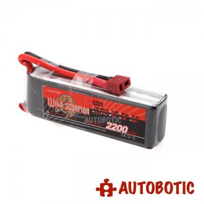 11.1V 2200mAh LiPo Rechargeable Battery