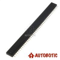 40 Pin Single Row Female Straight Pin Header