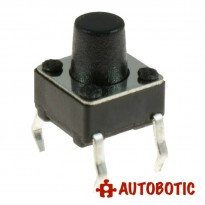 4-Pin Tactile Push Button Tact Switch (6x6x7mm)