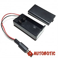 DC9V Battery Holder with Switch+Cover+Power Jack for Arduino