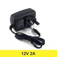 AC to DC Power Adapter 12V 2A (UK Plug) Arduino