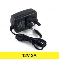 AC to DC Power Adapter 12V 2A (UK Plug) Arduino