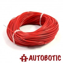 Red Single Core Tinned Copper Wire AV0.5mm 100 meter/roll