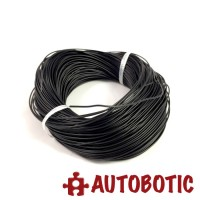 Black Single Core Tinned Copper Wire AV0.5mm 100 meter/roll