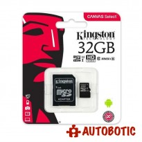 Kingston 32GB Micro SD Card 80MB/s Class 10 + Free Adapter