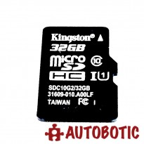 Kingston 32GB Micro SD Card 80MB/s Class 10 + Free Card Reader