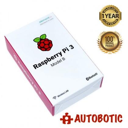 Raspberry Pi 3 Model B (1 Yr Warranty)
