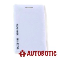 125KHz RFID Proximity Smart ID Card (Thick) Read Only
