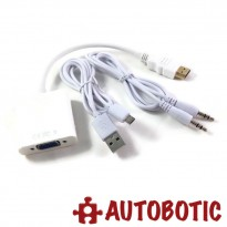 High Quality HDMI to VGA Adapter Converter Audio