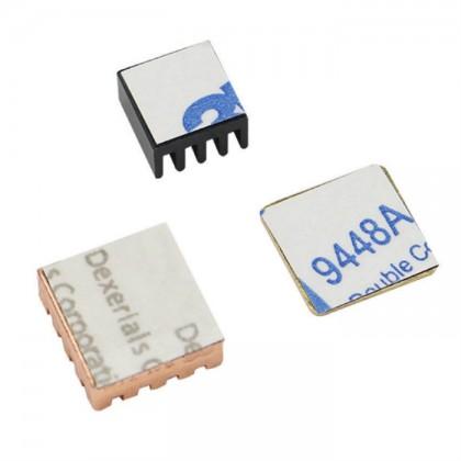 Raspberry Pi 3 Heatsink (Copper 2pcs + Aluminium 1pc)