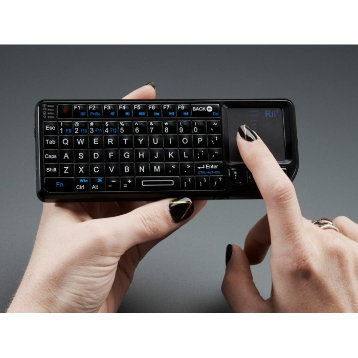 miniature wireless usb keyboard with touchpad. Black Bedroom Furniture Sets. Home Design Ideas