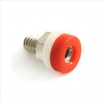 Brass 2mm Banana Jack Socket (Red)