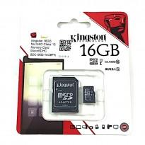 Kingston 16GB Micro SD Card 80MB/s Class 10 + Free Adapter