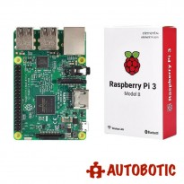 Raspberry Pi 3 + 16GB Micro SD + HDMI Cable + Heat Sinks