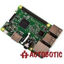 Raspberry Pi 3 + 16GB Micro SD + HDMI Cable + Heat Sinks
