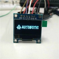 Blue 0.96 Inch SPI 128X64 OLED LCD Display Module for Arduino