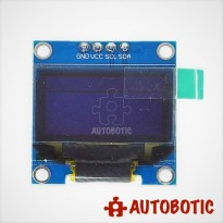 Blue 0.96 inch I2C IIC Serial 128X64 OLED LCD LED Display Module Arduino