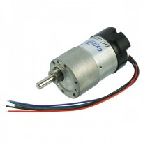 12V 22RPM 7kgfcm Brushed DC Geared Motor with Encoder (SPG30E-200K)