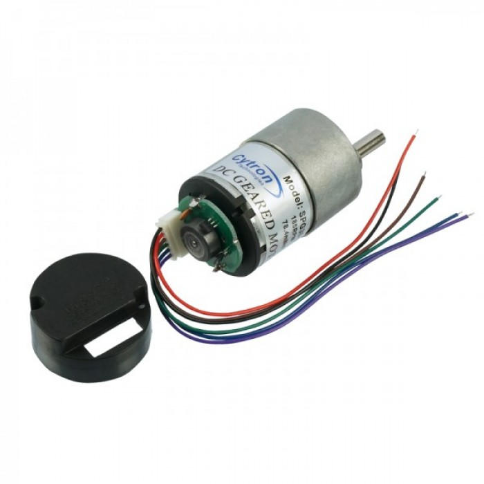 Dc geared motor with encoder spg30e 20k for Dc gear motor with encoder