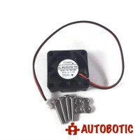 12V 0.16A Cooling Fan (With Screw)