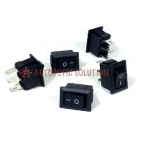 5pcs of 8.5x13.5mm 250VAC/3A 3Pin Rockey Switch
