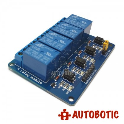 4 Channel Relay Module With Opto-Isolator (12V)
