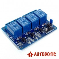 4 Channel Relay Module With Opto-Isolator (24V)