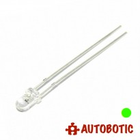 LED 3mm (Green) Super Bright