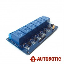 6 Channel Relay Module With Opto-Isolator (12V)