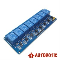 8 Channel Relay Module With Opto-Isolator (12V)